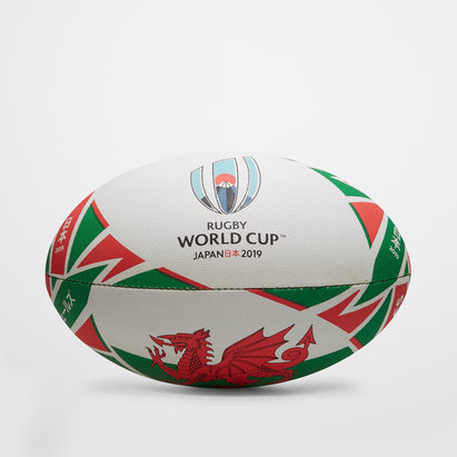 Gilbert Pays de Galles RWC 2019 - Ballon de Rugby Réplique Officiel