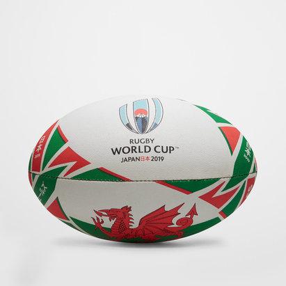 Gilbert Pays de Galles RWC 2019 - Ballon de Rugby Réplique Officiel