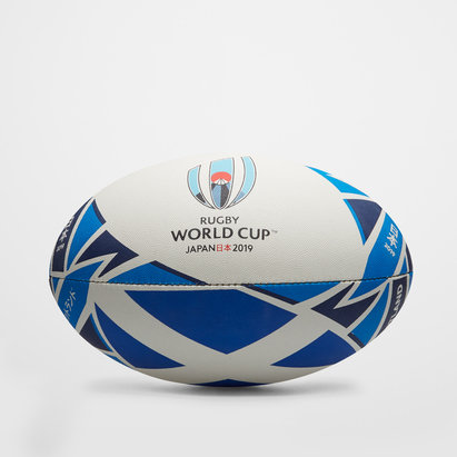 Gilbert Ecosse RWC 2019 - Ballon de Rugby Réplique Officiel