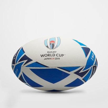 Gilbert Ecosse RWC 2019 - Ballon de Rugby Réplique Officiel