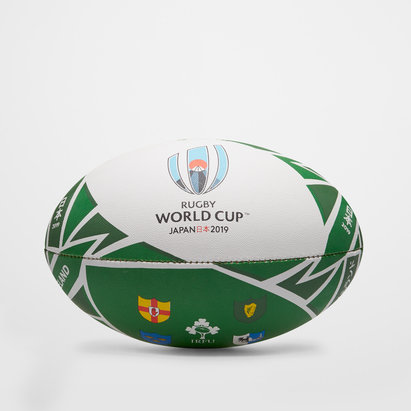Gilbert Irlande RWC 2019 - Ballon de Rugby Réplique Officiel