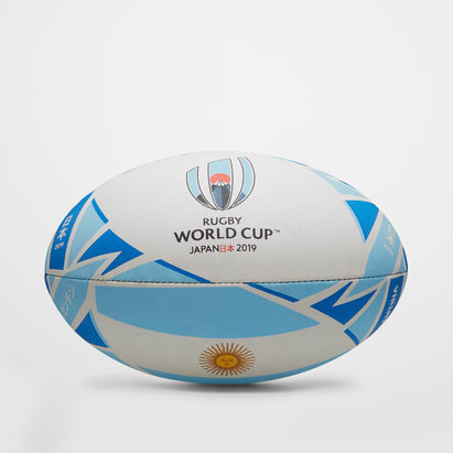 Gilbert Argentine RWC 2019 - Ballon de Rugby Réplique Officiel