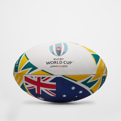 Gilbert Australie RWC 2019 - Ballon de Rugby Réplique Officiel