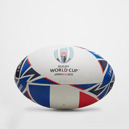 Gilbert France RWC 2019 - Ballon de Rugby Réplique Officiel
