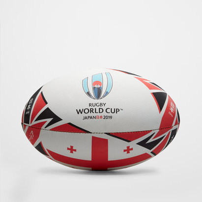 Gilbert Géorgie RWC 2019 - Ballon de Rugby Réplique Officiel