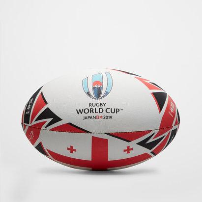 Gilbert Géorgie RWC 2019 - Ballon de Rugby Réplique Officiel