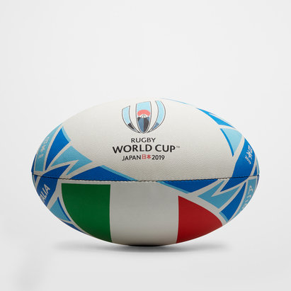 Gilbert Italie RWC 2019 - Ballon de Rugby Réplique Officiel