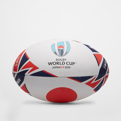 Gilbert Japon RWC 2019 - Ballon de Rugby Réplique Officiel