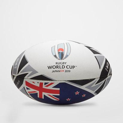 Gilbert Nlle Zélande RWC 2019 - Ballon de Rugby Réplique Officiel