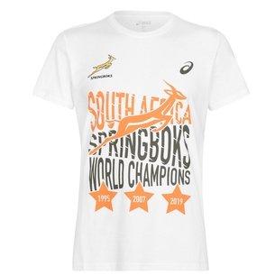 Asics South Africa RWC Winners T-Shirt Mens