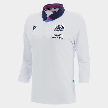 Macron Scotland Alternate Three Quarter Sleeve Classic Rugby Shirt 2021 2022 Ladies
