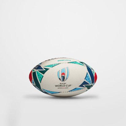 Gilbert Mini Ballon de Rugby Réplica, Coupe du monde 2019