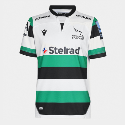 Macron Newcastle Falcons Away Jersey Mens