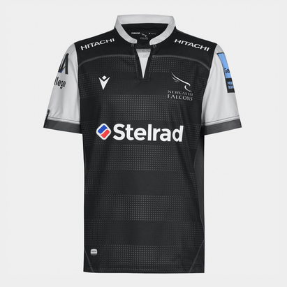 Macron Newcastle Falcon Home Jersey Mens