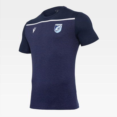 Macron Cardiff Blues 20/21 Training T-Shirt Mens