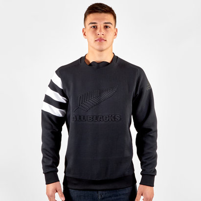 adidas Nlle Zélande All Blacks 2018/19 - Pull de Rugby Crew