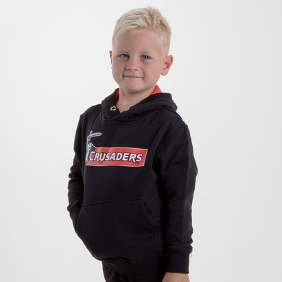 Brandco Crusaders 2018 - Pull de Super Rugby à Capuche Graphic Enfants