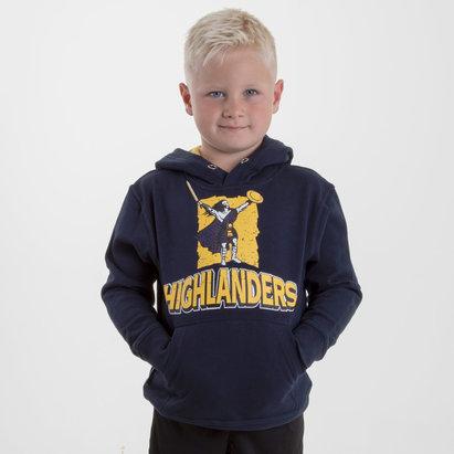 Brandco Highlanders 2018 - Pull de Super Rugby à Capuche Graphic Enfants