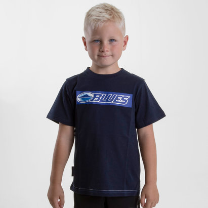 Brandco Blues 2018 - T-shirt de Super Rugby Graphic Enfants