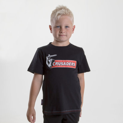Brandco Crusaders 2018 - T-shirt de Super Rugby Graphic Enfants