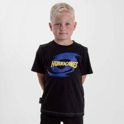 Brandco Hurricanes 2018 - T-shirt de Super Rugby Graphic Enfants