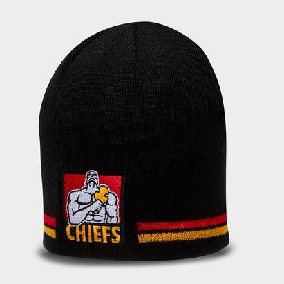 Brandco Chiefs 2018 - Bonnet de Super Rugby à Pompon