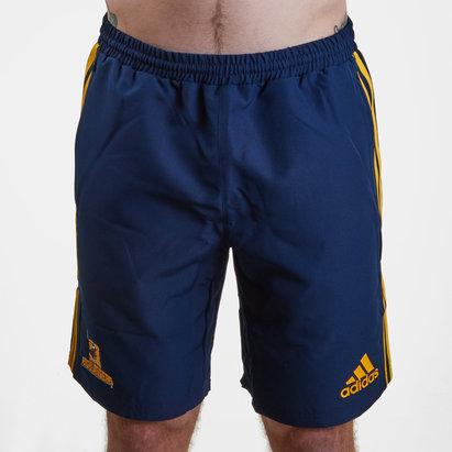 adidas Highlanders 2019 - Shorts de Super Rugby Tissé Domicile