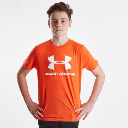 Under Armour Sportstyle Logo - Tshirt Enfants