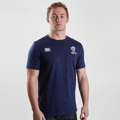 Canterbury RWC 2019 - Tshirt de Rugby Coton Logo