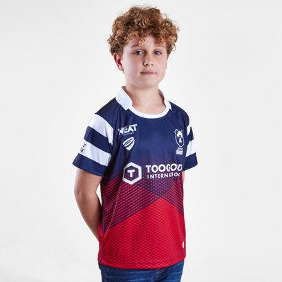 B Sport Bristol Bears 2018/19 - Maillot de Rugby Réplique Domicile Enfants