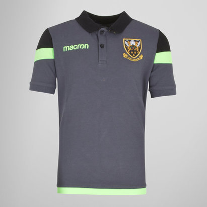 Macron Northampton Saints 2017/18 - Polo de Rugby Voyage Enfants