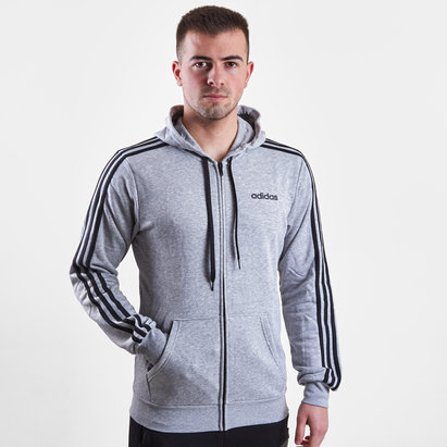 adidas 3 Bandes - Pull à Capuche French Terry Zippé