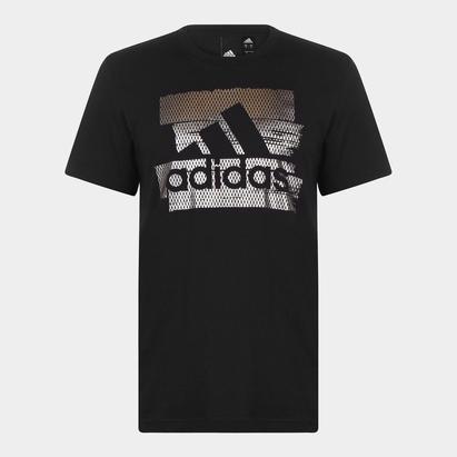 adidas Badge of sport Foil Print - Tshirt Loisirs