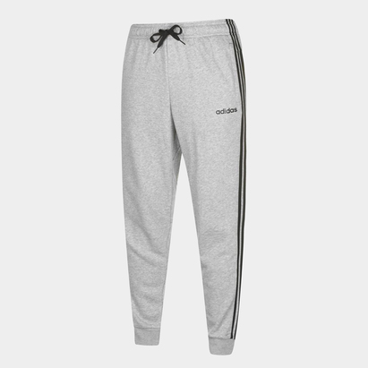 adidas Essential 3 Stripe - Pantalon Entraînement French Terry