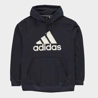adidas Large Logo Hoodie Mens