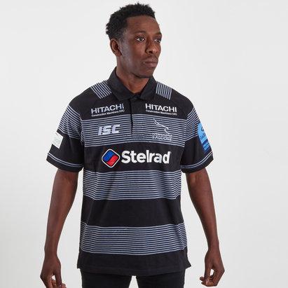 ISC Newcastle Falcons 2018/19 - Maillot de Rugby Coton Domicile