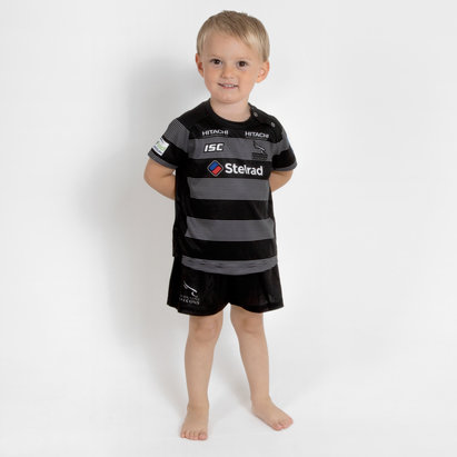 ISC Newcastle Falcons 2018/19 - Kit de Rugby Domicile Bébés