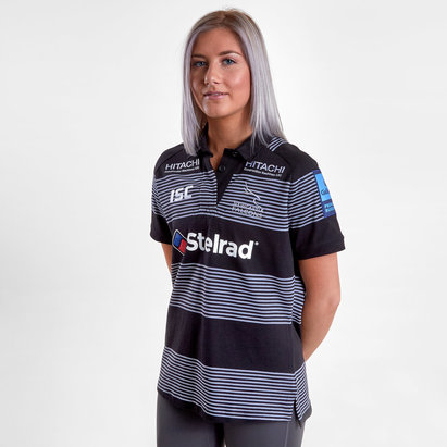 ISC Newcastle Falcons 2018/19 - Maillot de Rugby Coton Domicile Femmes