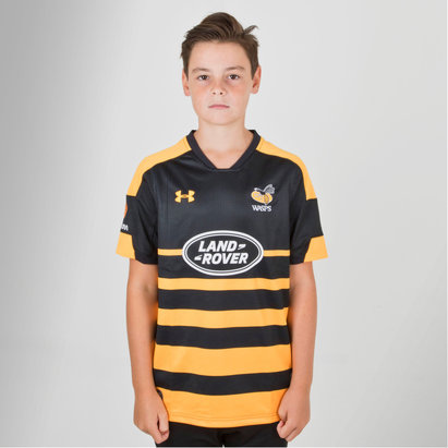 Under Armour Wasps 2018/19 - Maillot de Rugby Supporters Enfants