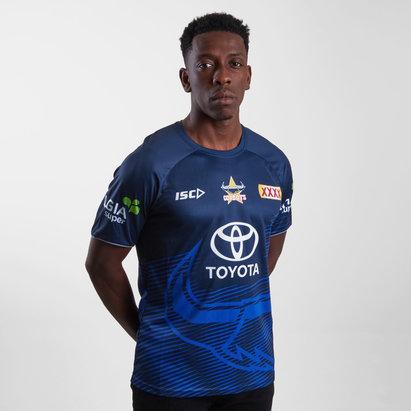 ISC North Queensland Cowboys NRL 2019 - Tshirt de Rugby Entraînement Joueurs