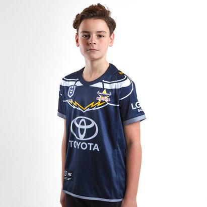 ISC North Queensland Cowboys NRL 2019 - Maillot de Rugby Domicile Enfants