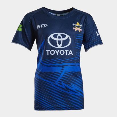 ISC North Queensland Cowboys NRL 2019 - Tshirt de Rugby Entraînement Adolescents