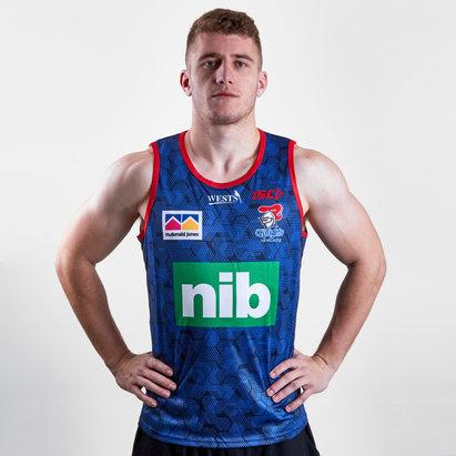 ISC Newcastle Knights NRL 2019 - Débardeur de Rugby Entraînement Joueurs
