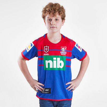 ISC Newcastle Knights NRL 2019 - Maillot de Rugby Domicile Enfants