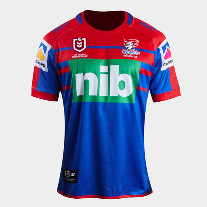 ISC Newcastle Knights NRL 2019 - Maillot de Rugby Domicile Adolescents