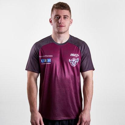ISC Manly Sea Eagles 2019 NRL - Tshirt de Rugby Entraînement Joueurs