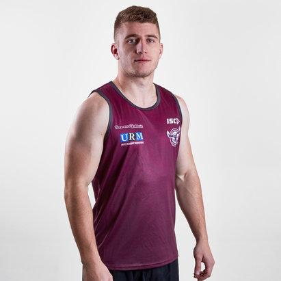 ISC Manly Sea Eagles 2019 NRL - Débardeur de Rugby Entraînement Joueurs