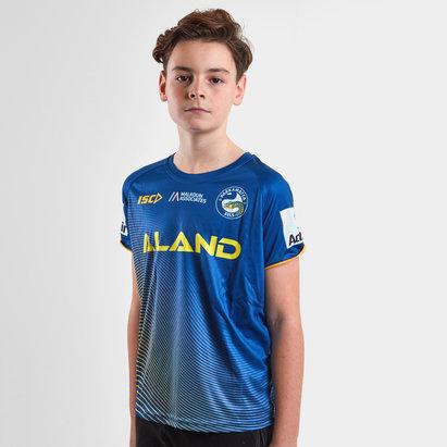 ISC Parramatta Eels 2019 NRL - Tshirt de Rugby Entraînement Adolescents