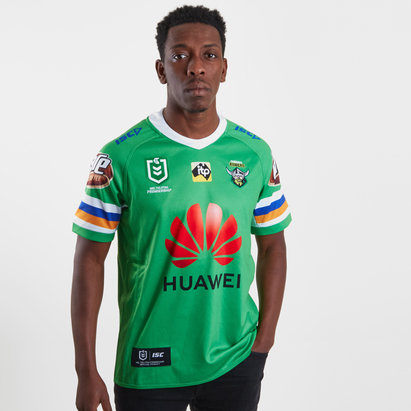 ISC Canberra Raiders NRL 2019 - Maillot de Rugby Domicile