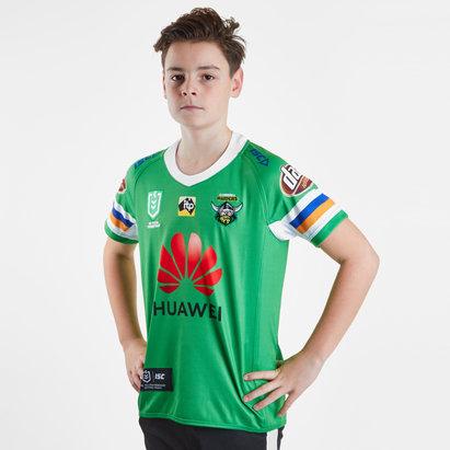 ISC Canberra Raiders NRL 2019 - Maillot de Rugby Domicile Enfants